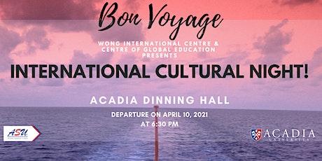 International Cultural Night tickets