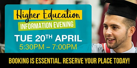 Redcar & Cleveland College's Higher Education Information Evening tickets