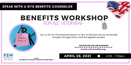 Benefits Workshop - Women Veterans tickets