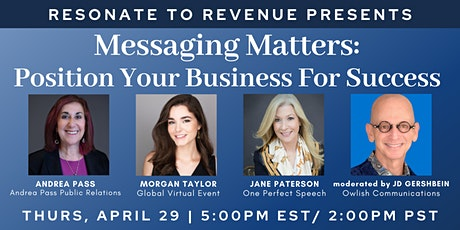 Messaging Matters: Position Your Business For Success tickets