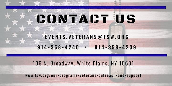 Benefits Workshop - Women Veterans image