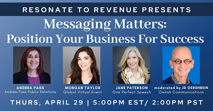 Messaging Matters: Position Your Business For Success image