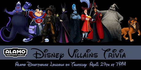Disney Villains Trivia at Alamo Drafthouse Loudoun tickets