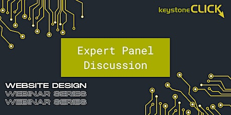 Website Design Expert Panel Discussion tickets