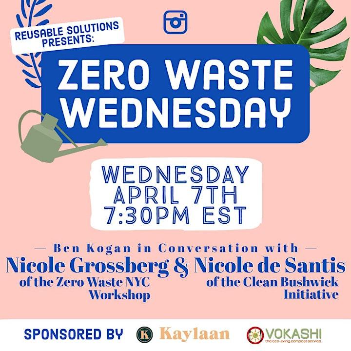 Zero Waste Wednesdays:NYC Zero Waste Workshop and Clean Bushwick Initiative image