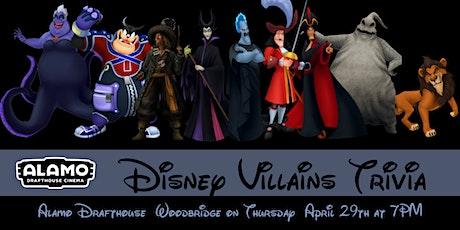 Disney Villains Trivia at Alamo Drafthouse Woodbridge tickets