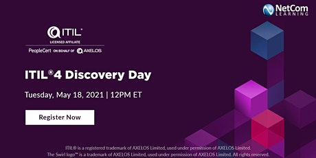 Webinar - ITIL®4 Discovery Day tickets