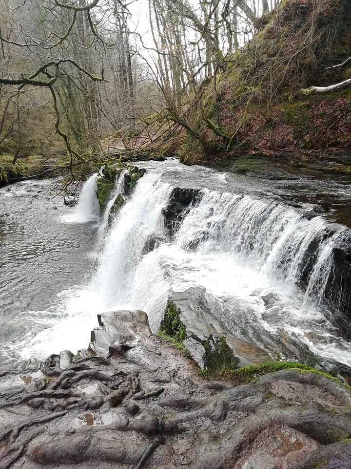 Hiking the Brecon Beacons Waterfalls image