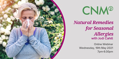 CNM Ireland Health Talk: Natural Remedies for Seasonal Allergies tickets