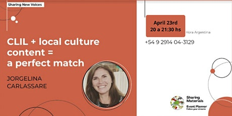 """CLIL+ local culture content= a perfect match"" by Jorgelina Carlassare entradas"