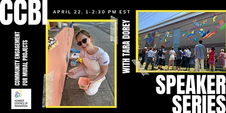 CCBI Speaker Series: Community Engagement for Murals Projects tickets