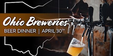 Ohio Breweries Beer Dinner tickets