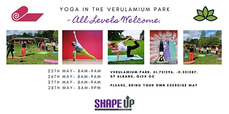 Yoga in the Park - Sustainability Festival tickets