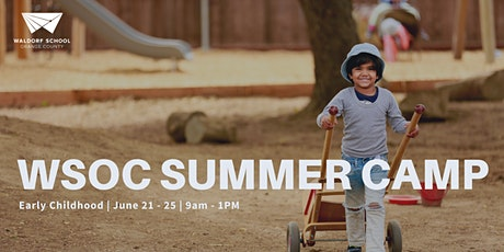 Early Childhood Camp June 21-June 25 tickets
