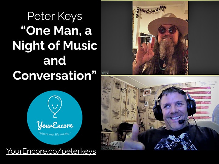 "Peter Keys, ""A Night in the Studio"" Zoom image"