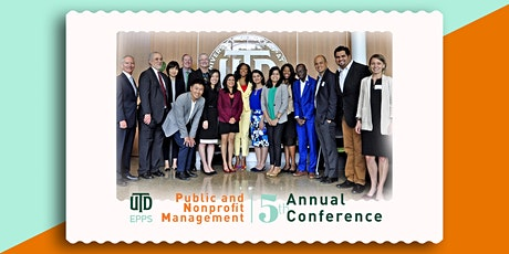 UT Dallas Public and Nonprofit Management Annual Conference tickets