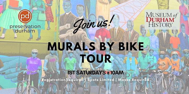 Durham's Murals by Bike Tour image