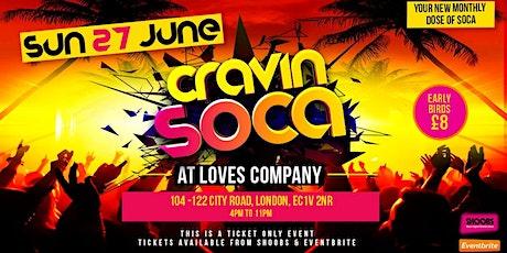Cravin Soca tickets