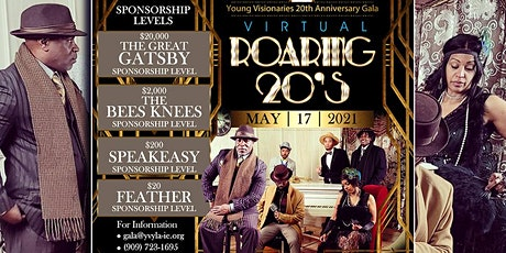 Join Young Visionaries 20th Anniversary Gala tickets