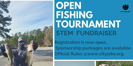 Open Bass Fishing Tournament_STEM Fundraiser tickets