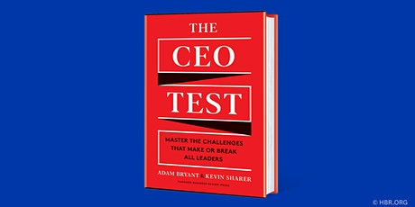 HBR Live Webinar: The CEO Test tickets