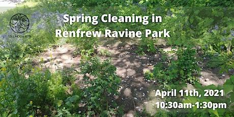 Spring Cleaning in Renfrew Ravine Park tickets