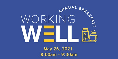 Working Well Breakfast tickets