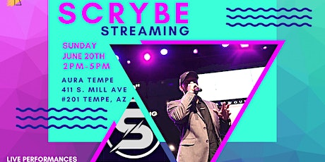 Scrybe Streaming V1 Conference tickets