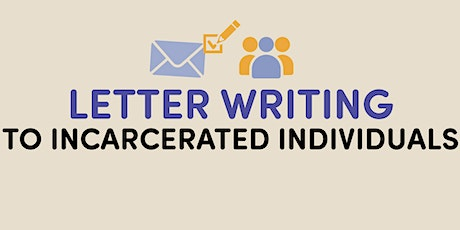 Letter Writing to Incarcerated Individuals (supplies included!) tickets