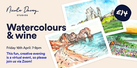 Watercolours & Wine: Postcard Landscapes tickets