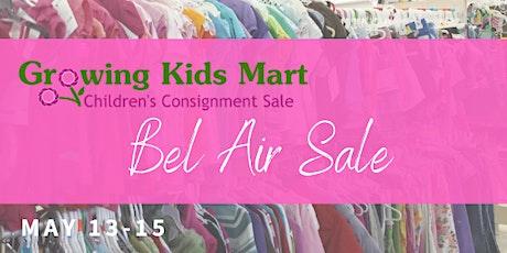 Pop-Up Kids Consignment Sale - Summer 2021 Bel Air tickets