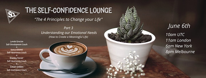 The 4 Principles to Change your Life - A four workshop series image