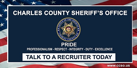 Charles County Sheriff's Office Recruiting Session tickets