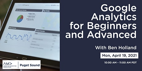 Google Analytics for Beginners and Advanced tickets