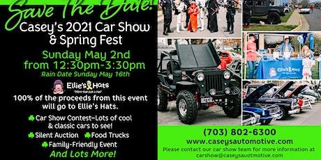 Casey's 2021 Car Show & Spring Fest tickets