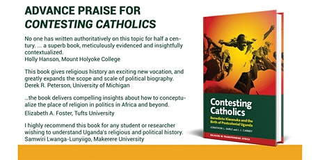 Book Launch for Contesting Catholics tickets
