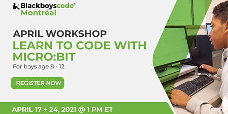 Black Boys Code Montreal -Learn to Program with Micro:bit tickets