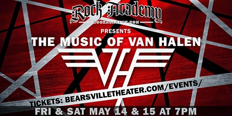 Rock Academy Presents  'The Music of Van Halen' LIVESTREAM tickets