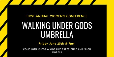 Walking Under Gods Umbrella (First Annual Conference) tickets
