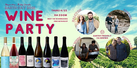 EARTH DAY Wine Tasting with 8 Local Winemakers tickets