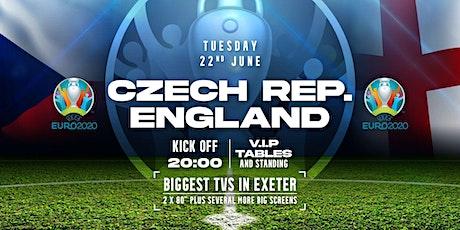 England v Czech Republic Euros 2021 tickets