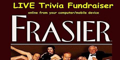 Frasier Trivia Fundraiser (live host) via Zoom (EB) tickets