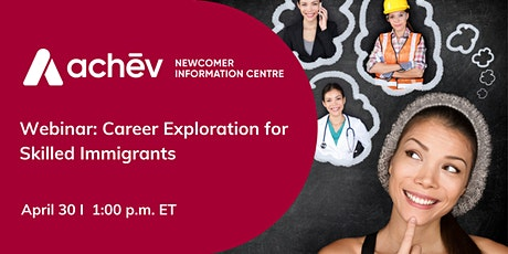 Career Exploration for Skilled Immigrants tickets