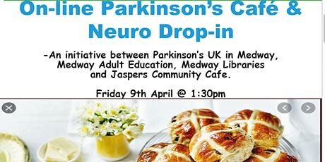 Online Parkinson's Cafe & Neuro Drop-in with a Bake Off & Guest Speakeer entradas