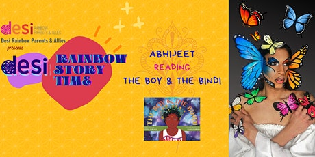 Desi Rainbow Story Time With Abhijeet tickets