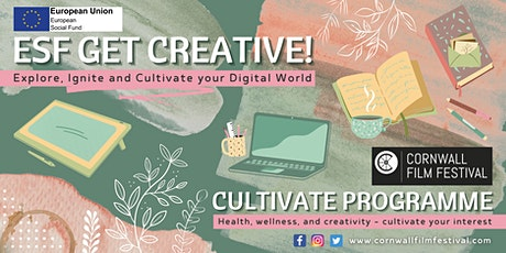 Get Creative! CULTIVATE PROGRAMME: NOVEL WRITING tickets