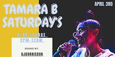 TamaraB Saturday's tickets