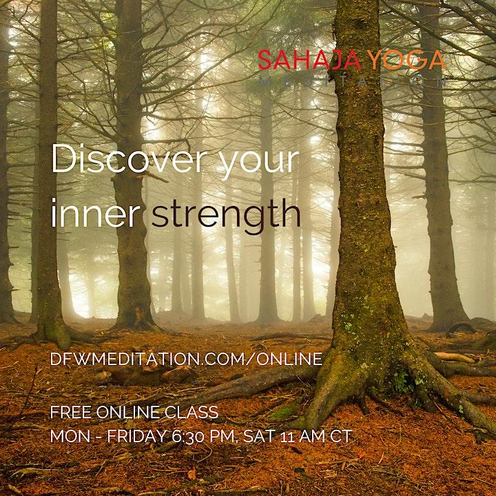 Sahaja Yoga Meditation Online image