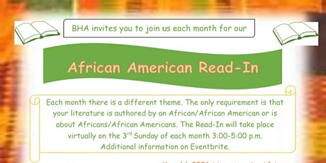 African American Read-In: Poetry tickets