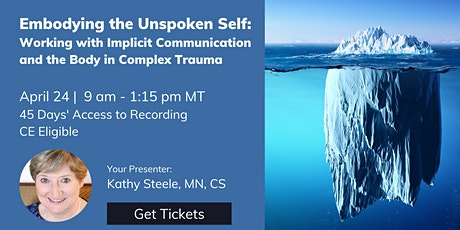 Embodying the Unspoken Self: Working with Implicit Communication... tickets